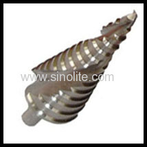 Spiral fluted HSS Step Drill