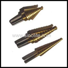 HSS Step Drill Titanium Finish