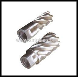 hole annular cutter for thread shank