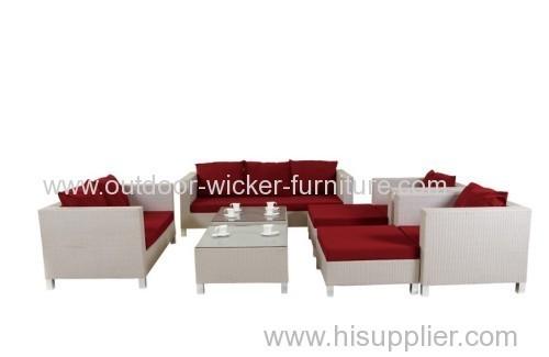 Outdoor sectional outdoor plastic sofa