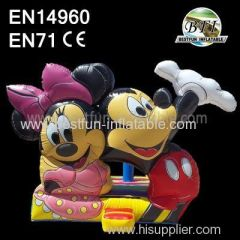 Inflatable Mickey Mouse Bouncer House