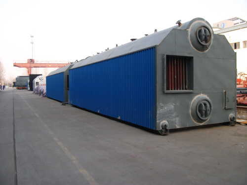 Natural circulation Shop Assemble Traveling Grate Boilers