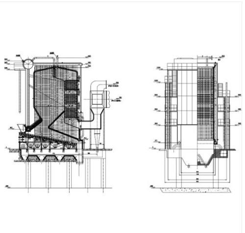 Industrial Reciprocating Grate Hot Water Biomass Boilers