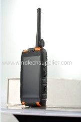 nfc ruged phone walkie talkie 4inch android 4.2 Quad core rug phone ru-gged phone gps nfc gps