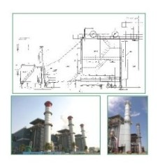 Natural circulation Turbine Waste Heat Boilers