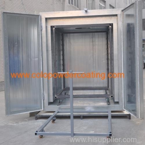 double doors batch oven
