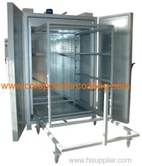 open type powder coating