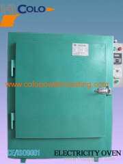 box type powder curing oven