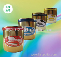 2kg/tin off set sublimation printing ink