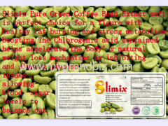 Green coffee bean extract weight loss capsule