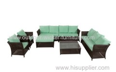 Wicker furniture sofa lounge