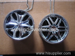 wheel hanging car air freshener