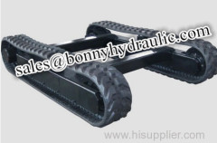 rubber track undercarriage rubber track system