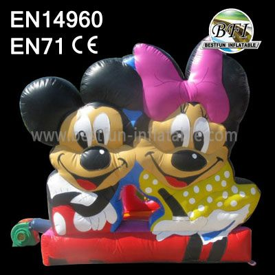 Inflatable Mickey Park Bouncer For Backyard Party