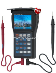 TG Security 8 function Multi-meter CCTV Tester with number buttons