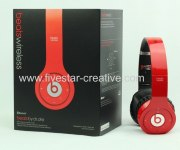 New Version Beats Wireless Studio Headphones With Noise Canceling Red