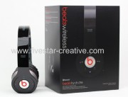 New Version Beats Wireless Studio Headphones with Noise Cancelling Black