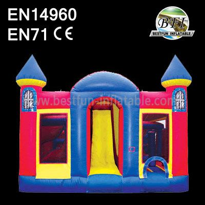 Cheap Inflatable Slide bounce Catlce Combo