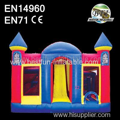 Inflatable Slide bounce Catlce Combo