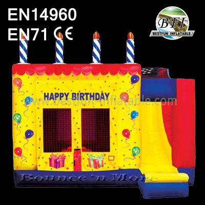 Inflatable Slide Jumper Combo Bouncer forHappy birthday