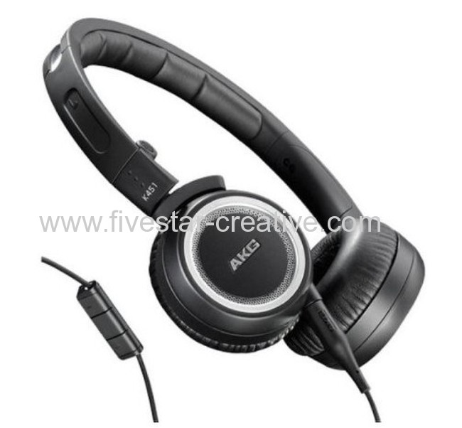AKG K451 High Performance Portable Headphones with iPod iPhone iPad Compatible Remote Control and Mic