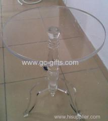 The three foot transparent acrylic decoration table furniture