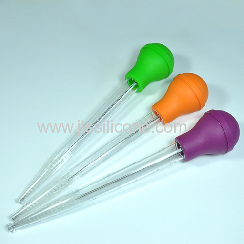 Fashionable and easy clean silicone cooking baster