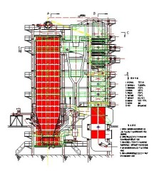 Water Tube AFBC Circulating Fluidized Bed Boilers