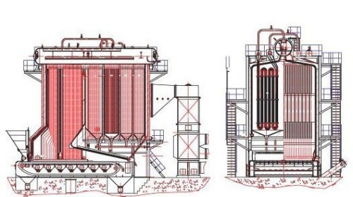 Vertical Water Tube Chain Grate Boilers