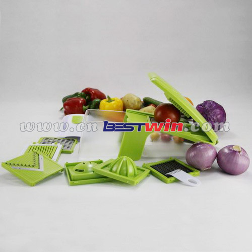 Vegetable Grater / Kitchen Slicer / Nicer Dicer Plus
