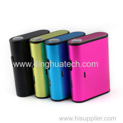 Colorful LED Torch Light Mobile power supply with 4000MAH capacity
