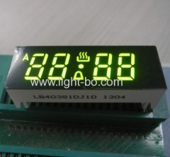 Green Oven Timer LED Display,4-Digit 0.38