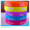 cute fashion silicone wristband bands