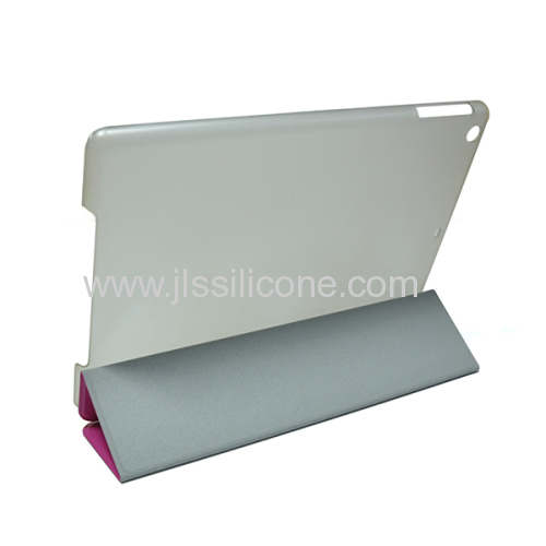 foldable cover page for iPad Air stand case