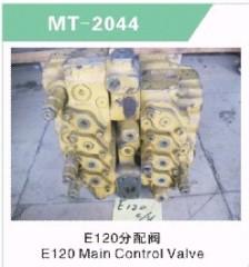 E120 MAIN CONTROL VALVE