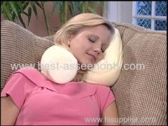 Pillow Contour Twist Pillow Neck Pillow Memory Foam Twist Pillow