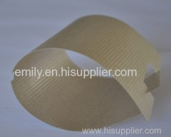 flexible mica part and washer for higher temperature insulation
