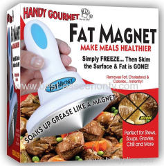 Fat Magnet Removes Fat Floating On Greasy Food Surfaces Reduce Cholesterol