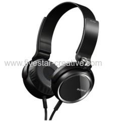 Sony MDR XB400 Extra Bass Over-The-Ear Headphones Black