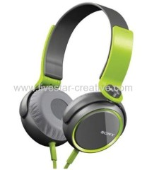Sony MDR-XB400 Extra Bass Overhead Headphones Green