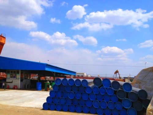 SEAMLESS STEEL PIPES OF DIFFERENT MATERIAL