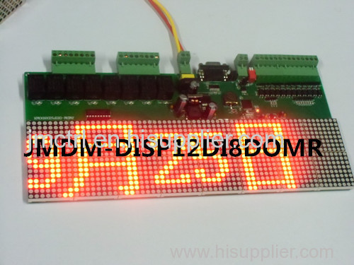 LED dot matrix display industrial controller all in one JMDM