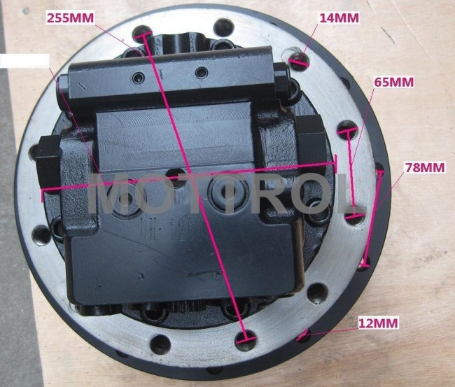GM09 TRAVEL MOTOR ASSY