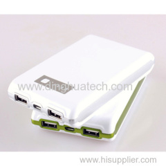 High quality with high capacity Double USB Output Mobile Power Supply (8000MAH)