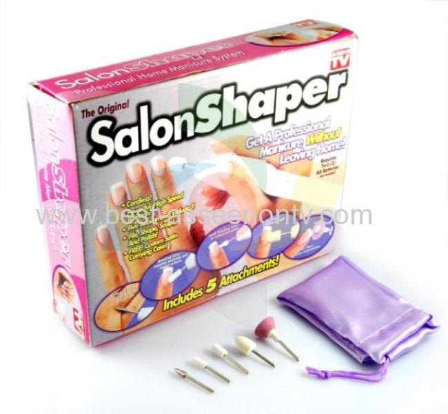 Salon Shaper Nail Shaper 5 in 1 Manicure 1setLot Salon Shaper Manicure Set Salon Shaper 5-in-1 Manicure & Pedicure