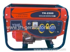 single phase gasoline generator set