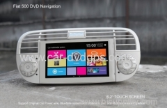 Fiat 500 DVD Navigation radio tv bluetooth mp3 and blue & me system