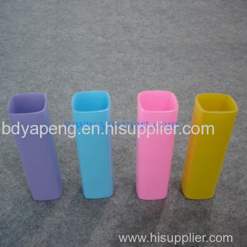 spray flower glass vase