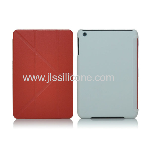 Book Shell Stand case,leather cover for ipad Mini 2
