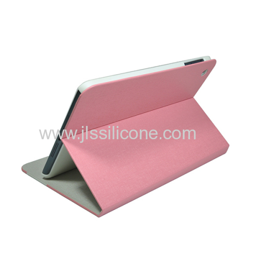 Fashionable leather cover for Apple iPad Mini stand case